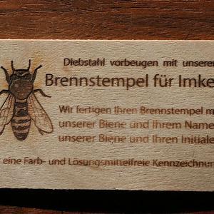 Visitenkarten erstellt von Gravierbetrieb Wagner